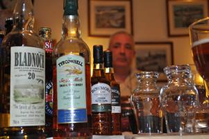 whisky-boy-jim-and-tasting-bottles