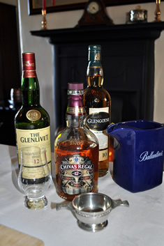 girls-whisky-tasting-bottles