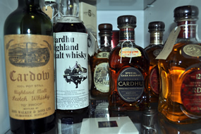 diageo-cardhu-whisky-bottles