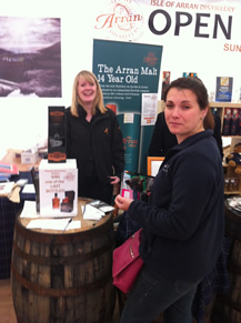 whisky-boy-nicola-at-the-arran-whisky-stall