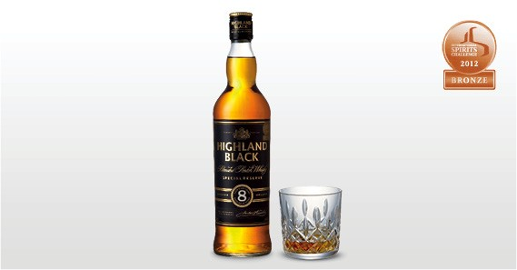 Highland Black 8yo - Aldi Whisky