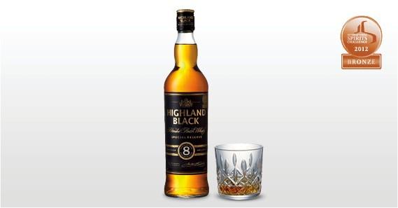 Highland Black 8yo - Aldi Whisky