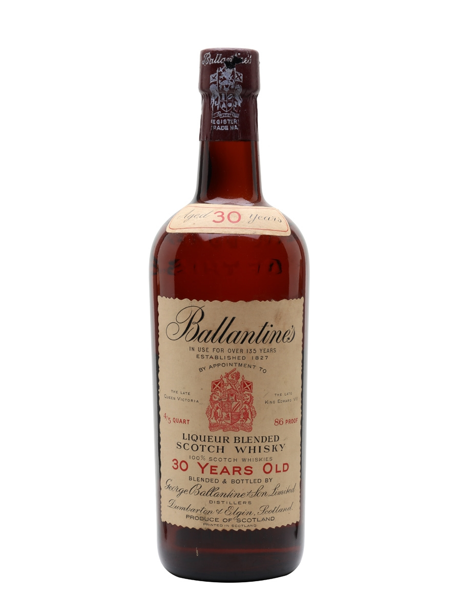 Ballantines 30 Year Old