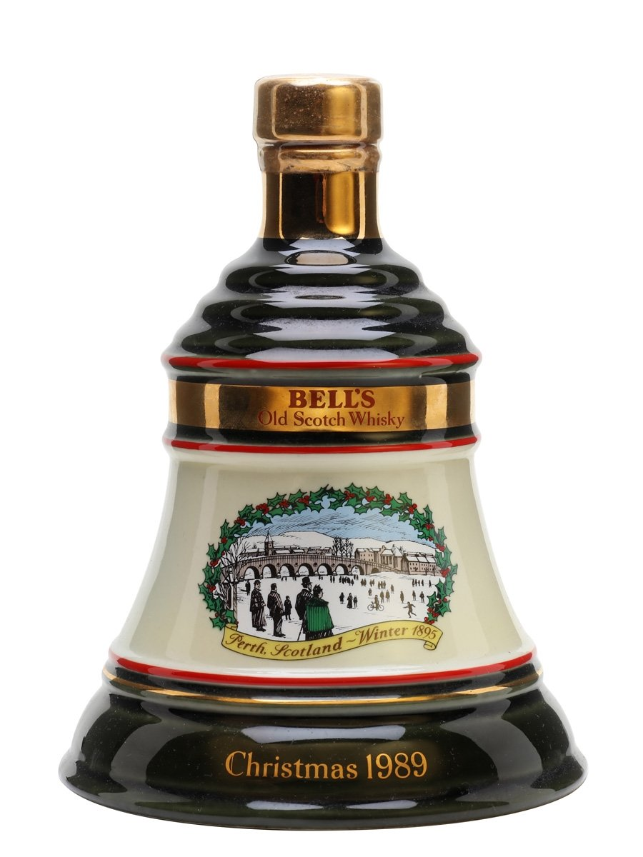 Bell's Christmas 1989 Decanter